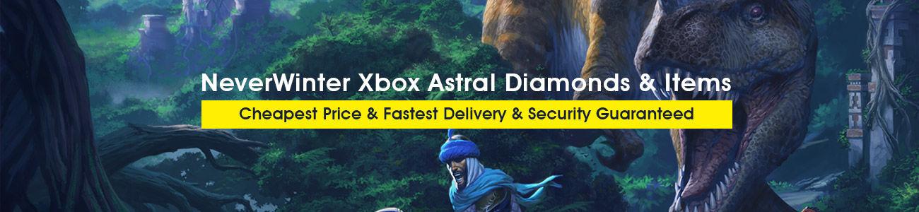 NeverWinter Xbox Astral Diamonds & Items