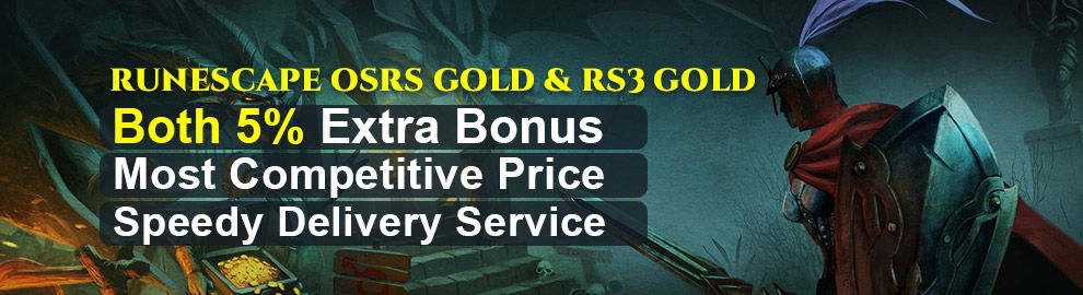 RUNESCAPE OSRS GOLD & RS3 GOLD