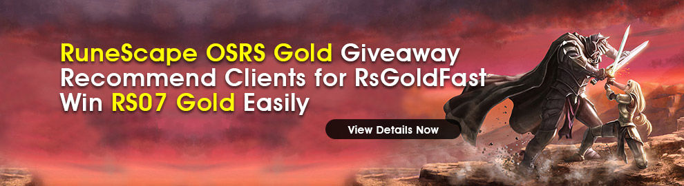 RuneScape OSRS Gold Giveaway