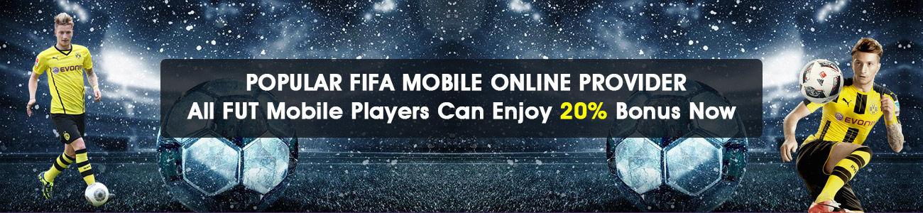 POPULAR FIFA MOBILE ONLINE PROVIDER