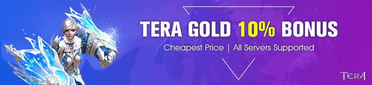 TERA GOLD 10% BONUS