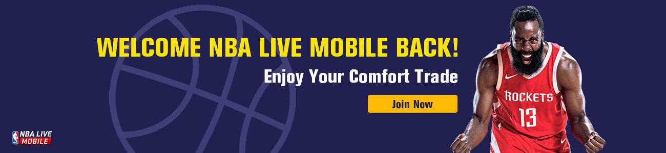 WELCOME NBA LIVE MOBILE BACK