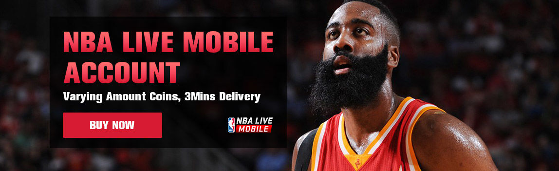 NBA LIVE MOBILE ACCOUNT
