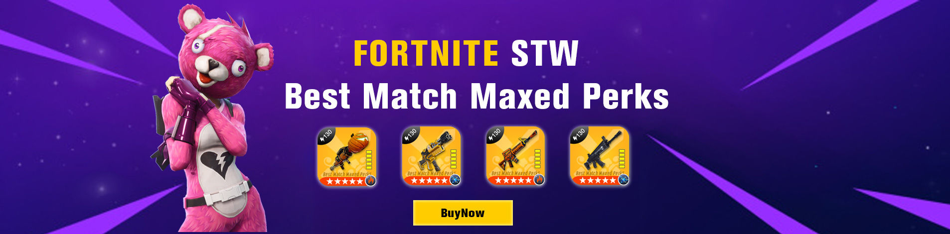 FORTNITE STW