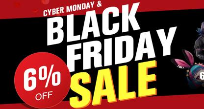Black Friday & Cyber Monday Promotion
