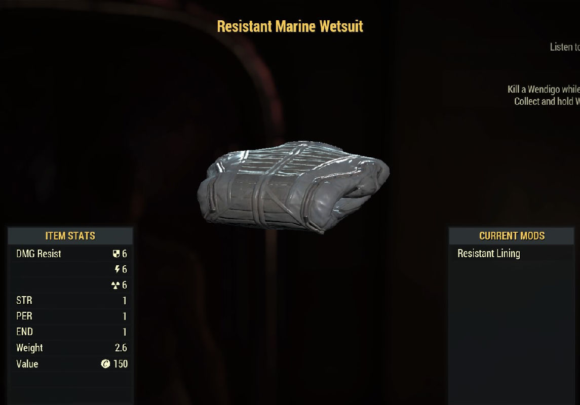 ResistantMarineWetsuit