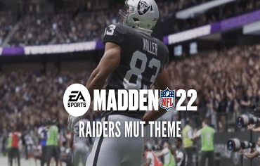 Madden 22: Ultimate Las Vegas Raiders Theme Team in MUT 22
